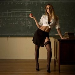 Hot for teacher?