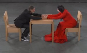 Marina Abramovic and Ulay, in 2010.