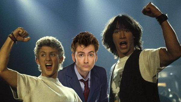 Bill and Ted...and The Doctor!